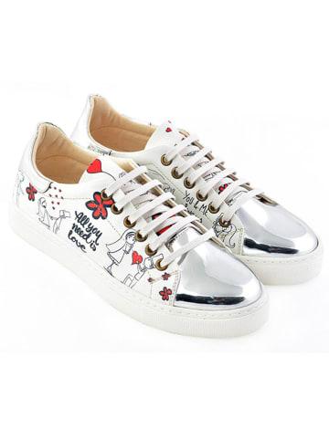 Goby Sneakers in Weiß/ Bunt