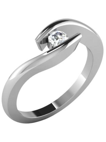 Diamant Vendôme Weißgold-Ring mit Diamant