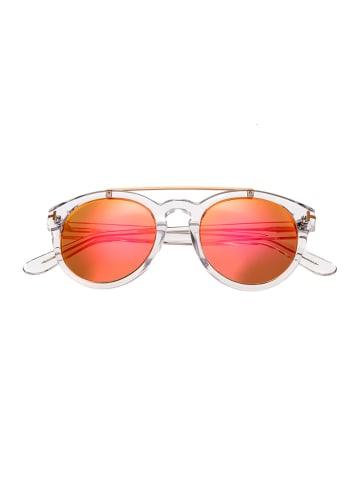 "Bertha Damen-Sonnenbrille ""Ava"" in Transparent/ Orange"