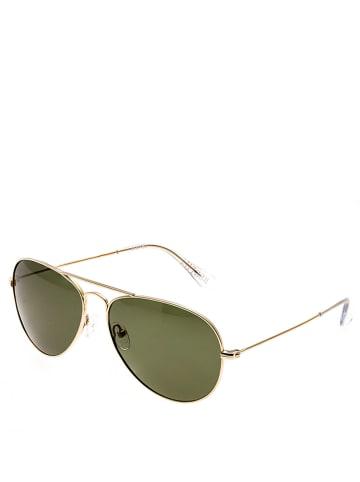 Bertha Damen-Sonnenbrille in Gold/ Grau