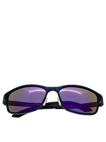 Breed Herren-Sonnenbrille in Dunkelblau/ Lila