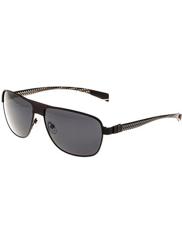 """Breed Męskie okulary przeciwsłoneczne """"Hardwell"""" w kolorze ciemnobrązowo-szarym"""
