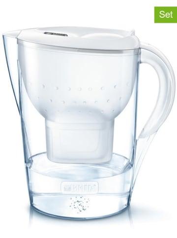 """Brita Vorteilspaket: Wasserfilter """"Marella XL"""" + 7 Kartuschen in Weiß - 3,5 l"""