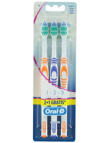 """Oral-B 2-delige set: tandenborstels """"Classic Clean - Middel"""" + 1 gratis"""