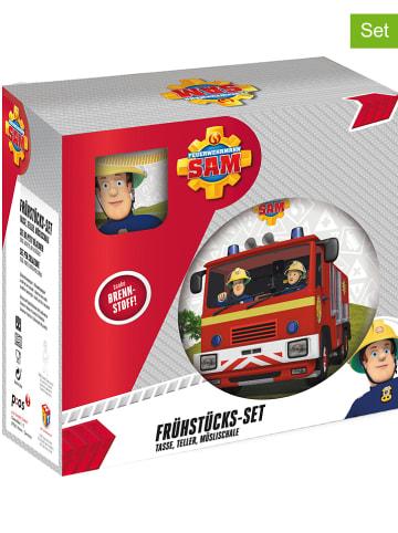 Feuerwehrmann Sam 3-częściowy zestaw śniadaniowy ze wzorem