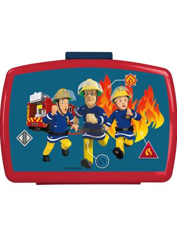 """POS Brotdose """"Feuerwehrmann Sam"""" in Bunt - 16 x 12 x 7 cm"""
