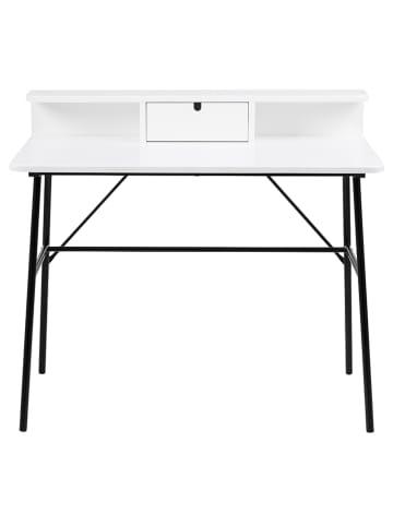 """AC Design Biurko """"Pascal"""" w kolorze czarno-białym - 100 x 88,8 x 55 cm"""