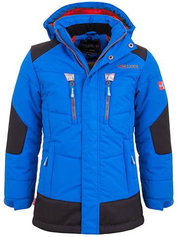 """Trollkids Winterjas """"Narvik"""" blauw/rood"""