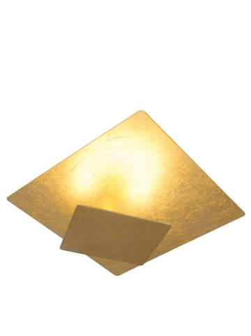 Näve LED-plafonnière goudkleurig - (B)20 x (D)20 cm
