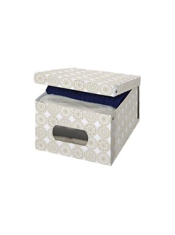 Domopak Opbergbox beige/meerkleurig - (B)39 x (H)24 x (D)50 cm