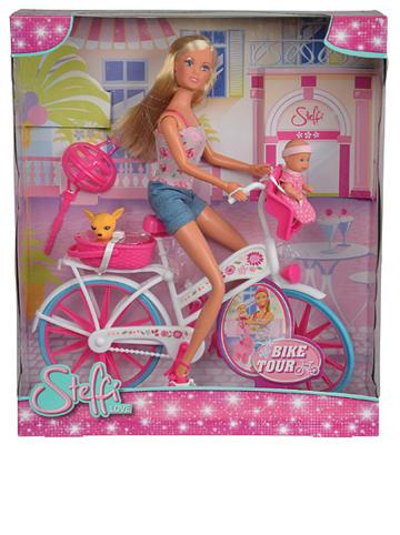 """Simba Pop """"Steffi - Bike Tour"""" met accessoires - vanaf 3 jaar"""