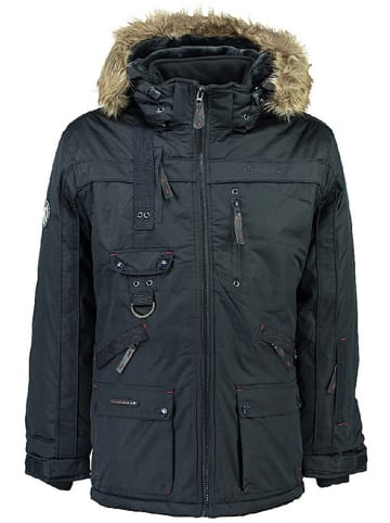 """Geographical Norway Winterparka """"Chirac"""" donkerblauw"""