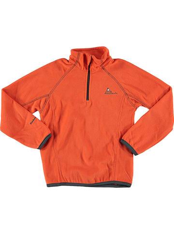 Peak Mountain Bluza polarowa w kolorze pomarańczowym