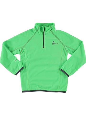 Peak Mountain Bluza polarowa w kolorze zielonym