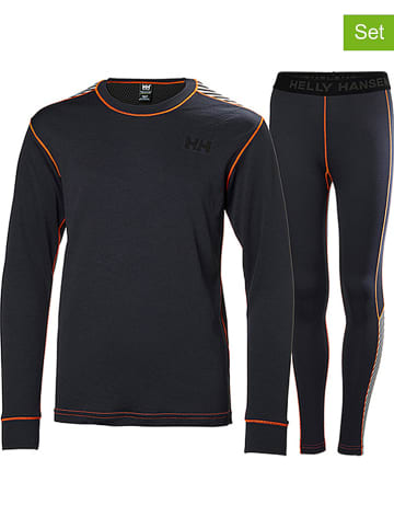 Helly Hansen 2-delige set: functioneel ondergoed antraciet