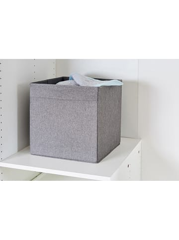 STORE IT Ordnungsbox in Anthrazit - (B)33 x (H)33 x (T)33 cm