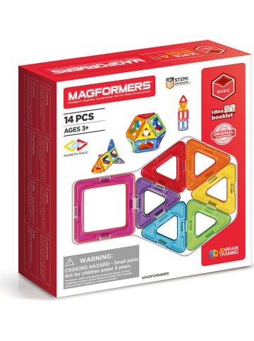 """MAGFORMERS 14-częściowy zestaw magnetyczny """"Standard Line"""" - 3+"""