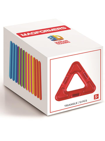 """MAGFORMERS 12tlg. Magnetspielset """"Triangle"""" - ab 3 Jahren"""