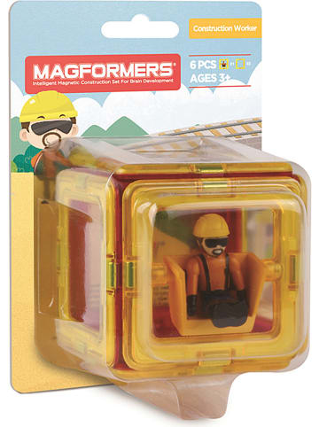 """MAGFORMERS 6-częściowy zestaw akcesoriów """"Construction Worker"""" - 3+"""