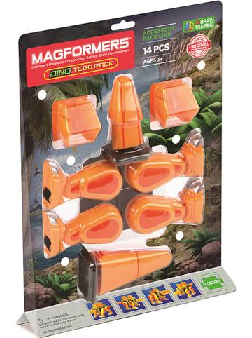 """MAGFORMERS 14-częściowy zestaw akcesoriów """"Dino Tego Pack"""" - 3+"""