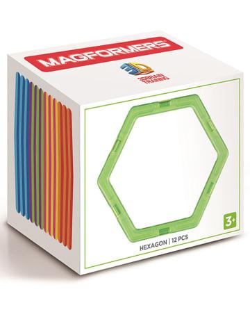 """MAGFORMERS 12-częściowy zestaw magnetyczny """"Hexagon"""" - 3+"""