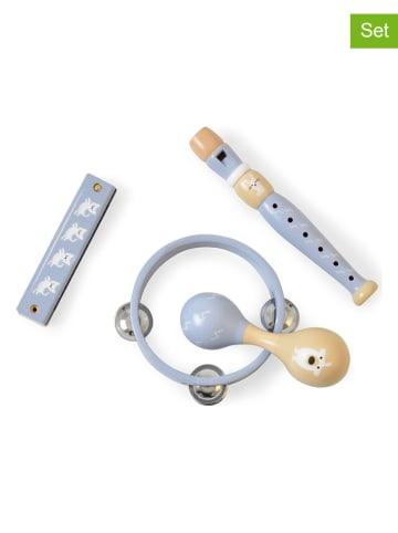 Magni 4-częściowy zestaw instrumentów w kolorze błękitnym - 3+