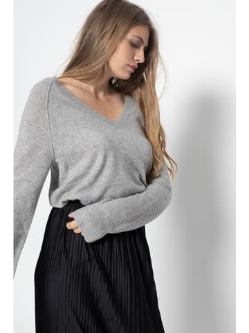 "Just Cashmere Kaschmir-Pullover ""Phoebe"" in Grau"