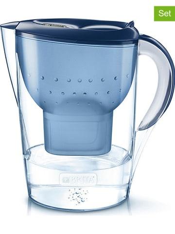 """Brita Vorteilspaket: Wasserfilter """"Marella XL"""" + 13 Kartuschen in Blau - 3,5 l"""