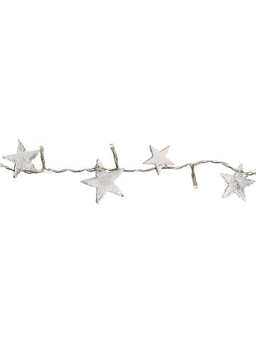 "Best Season Girlanda LED ""Nature Star"" w kolorze srebrnym - dł. 150 cm"