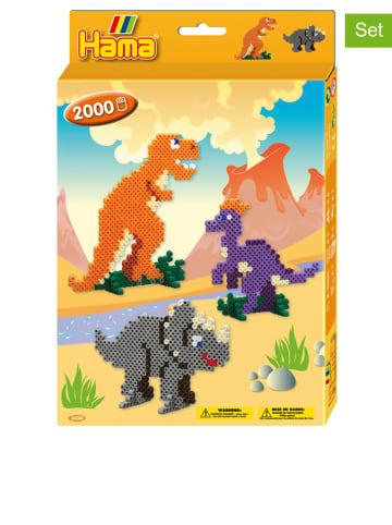 """Hama 2.000tlg. Bügelperlenset """"Dinosaurier"""" - ab 5 Jahren"""