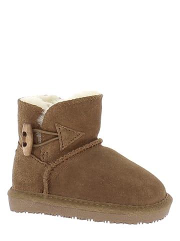 """Gooce Leren winterboots """"Hubbard Toddler"""" bruin"""