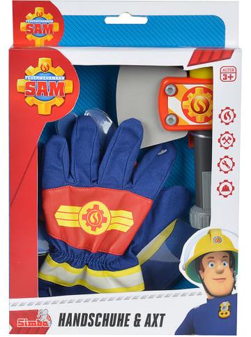 Feuerwehrmann Sam Handschuhe und Axt - ab 3 Jahren