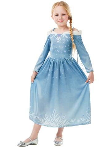 """Rubie`s Sukienka """"Elsa Frozen Adventures Classic"""" w kolorze błękitnym"""
