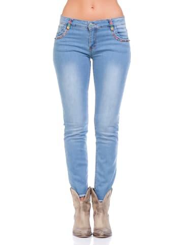 Calao Jeans in Hellblau