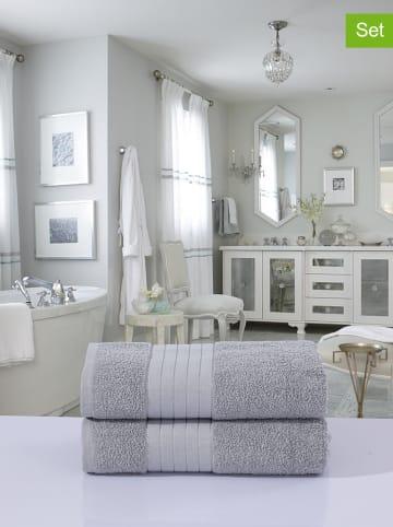 Good Morning Ręczniki kąpielowe (2 szt.) w kolorze szarym