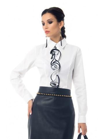 Iren Klairie Koszula w kolorze białym