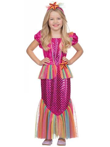 Rubie`s Sukienka w kolorze różowym ze wzorem
