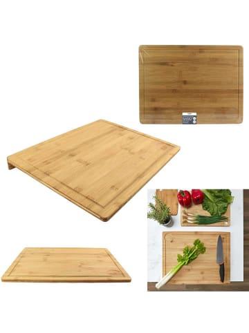 COOK CONCEPT Deska w kolorze beżowym do krojenia - 44 x 33,5 cm