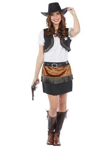 """Rubie`s 3-częściowy kostium """"Wild West Cowgirl"""" w kolorze brązowym"""