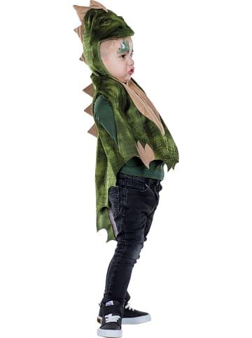 """Rubie`s Peleryna """"Dino"""" w kolorze zielonym"""