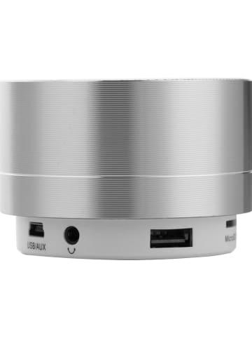 WHIPEARL Bluetooth luidspreker zilverkleurig