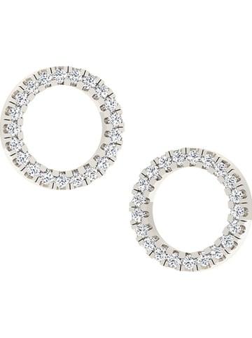 Royal Diamant Weißgold-Ohrstecker mit Diamanten