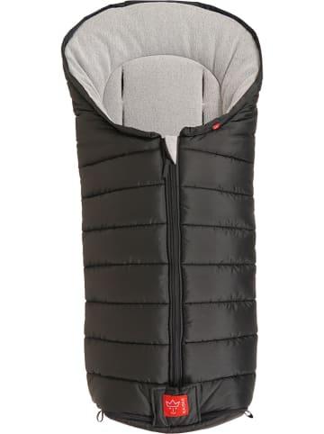 """Kaiser Naturfellprodukte Śpiworek termiczny """"Fanny"""" w kolorze czarnym - 100 x 43 cm"""