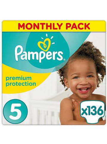 """Pampers Luiers """"Premium Protection"""" gr. 5, 11-23 kg (136 stuks)"""