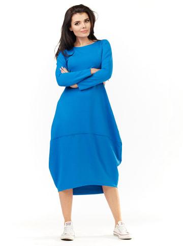 Awama Jurk blauw