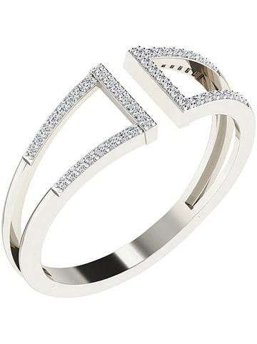 Vittoria Jewels Weißgold-Ring mit Diamanten
