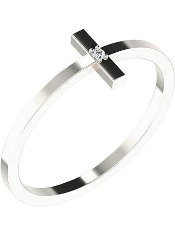 Vittoria Jewels Złoty pierścionek z diamentem