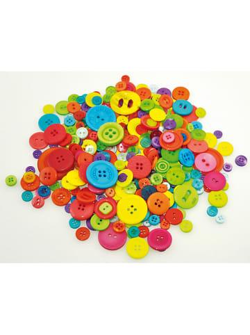 Playbox Guziki w różnych kolorach - 500 g