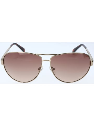 Guess Herenzonnebril goudkleurig/lichtbruin