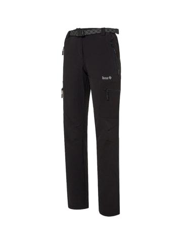 Izas Spodnie funkcyjne w kolorze czarnym